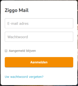 ziggo webmail inloggen